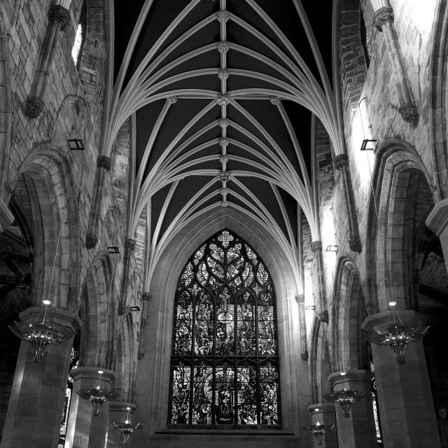 """St Giles Cathedral"" stock image"
