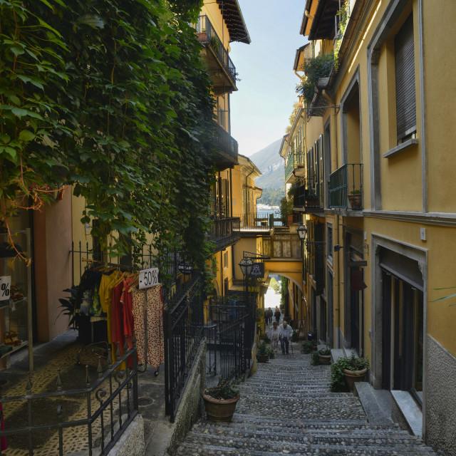 """Lake Como, Bellagio"" stock image"