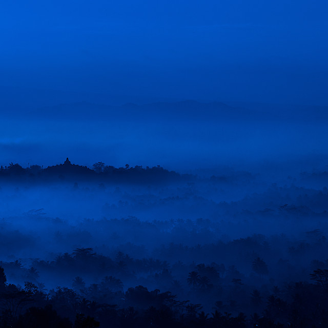 """Lost in Borobudur"" stock image"