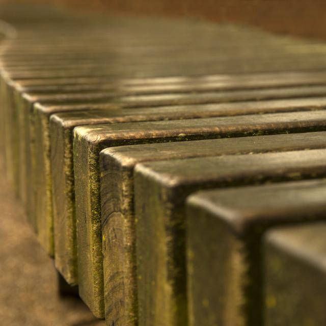 """Winding bench"" stock image"