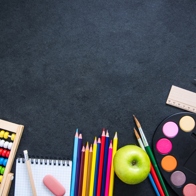 """back to school template design"" stock image"