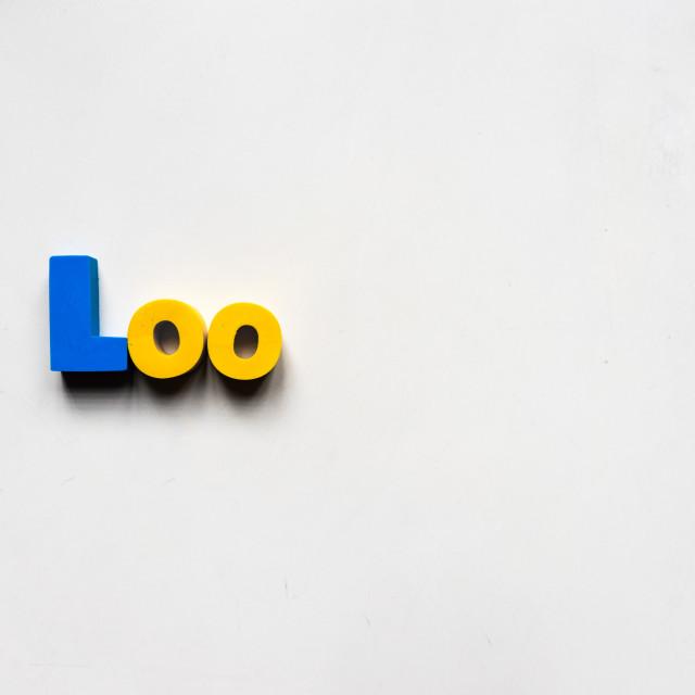"""Loo"" stock image"