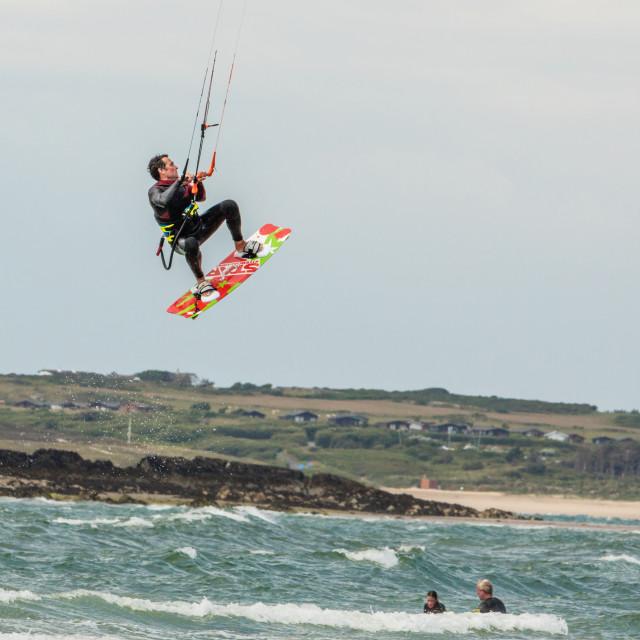 """Kitesurfer"" stock image"