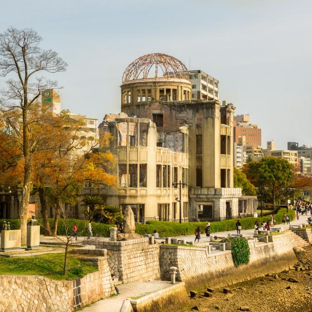 """Hiroshima Bomb Dome"" stock image"