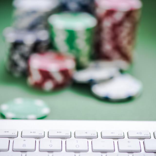 """online casino concept"" stock image"