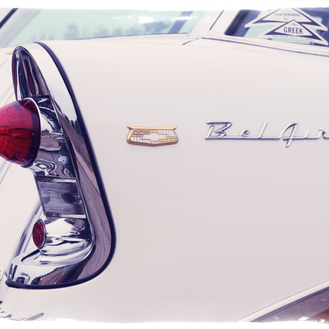 """Chevy Belair"" stock image"
