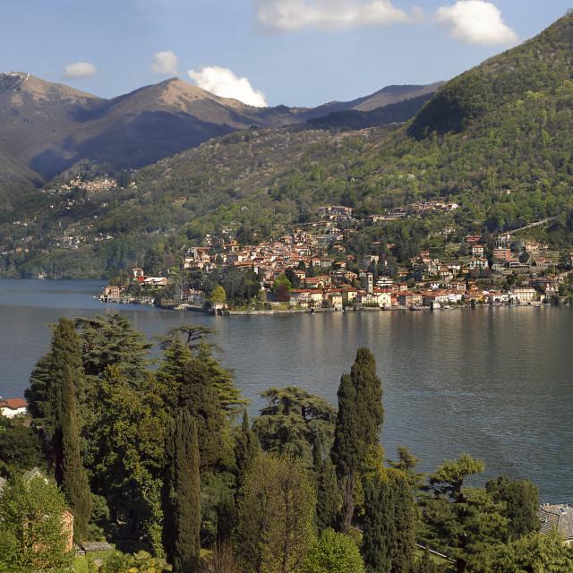 """Lake Como,Torno"" stock image"