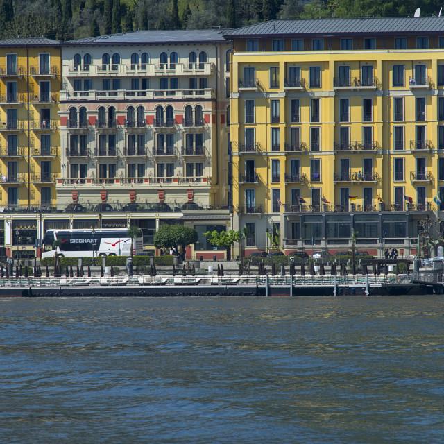 """Lake Como,Tremezzo"" stock image"