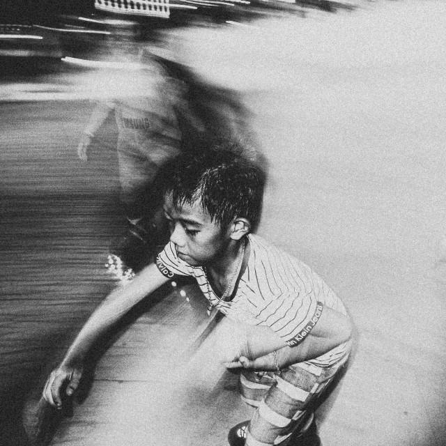 """""""Roller Skate !"""" stock image"""