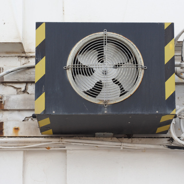 """HVAC device detail"" stock image"