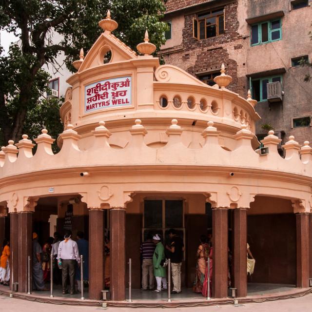 """Martyr's well of Jallianwala Bagh massacre, Amritsar, Punjab, India"" stock image"