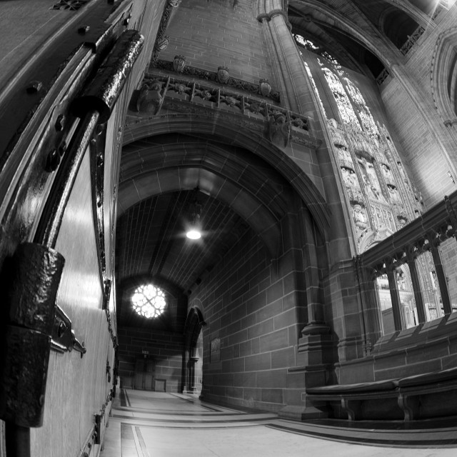 """""""Liverpool's Anglican Cathedral"""" stock image"""