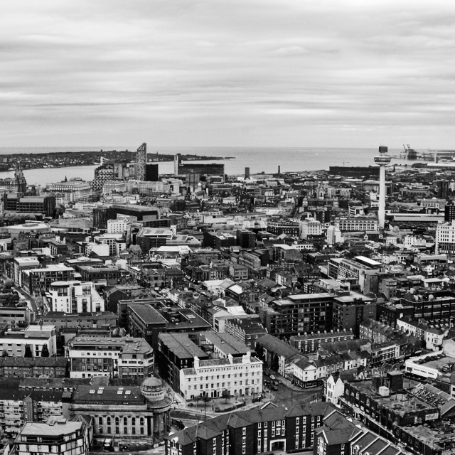 """Liverpool City Centre"" stock image"