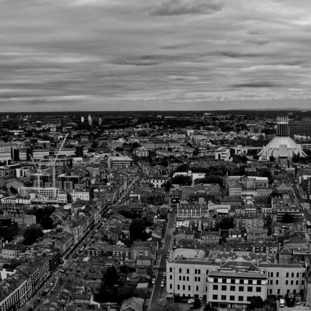 """Liverpool City Centre"" stock image"