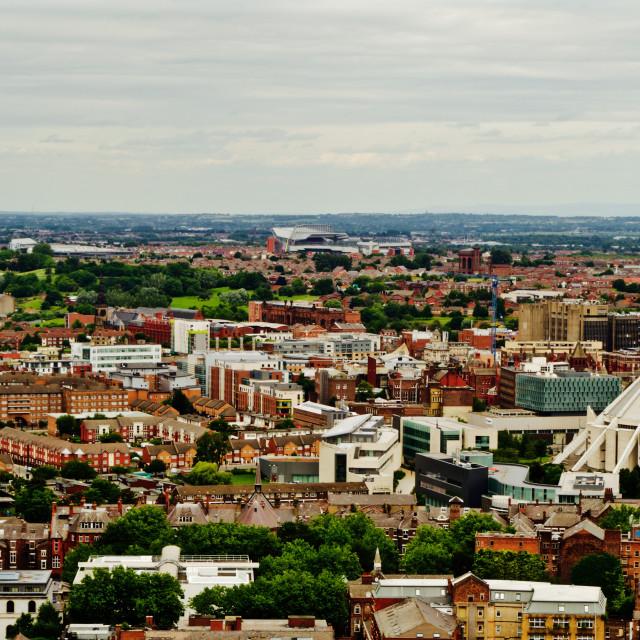 """Liverpool's Metropolitan Cathedral"" stock image"