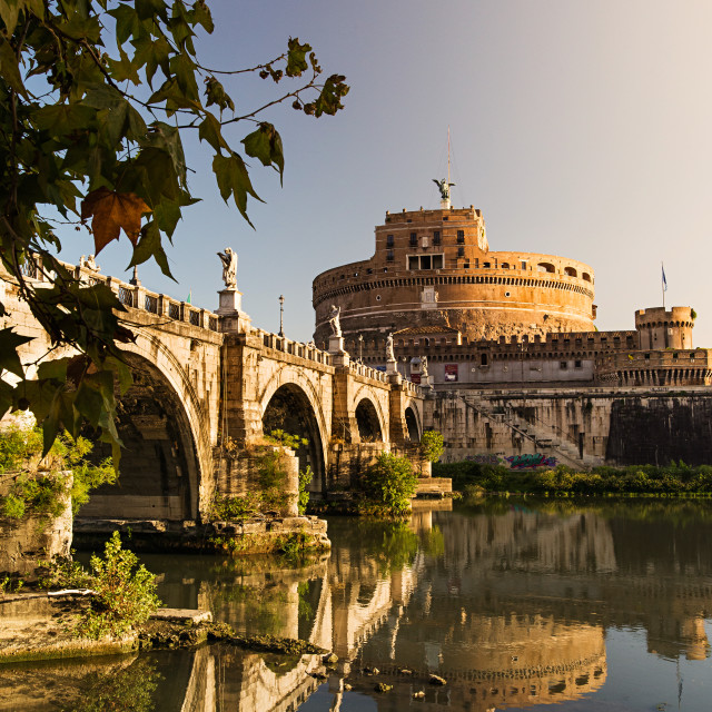 """Castle Sant Angelo"" stock image"
