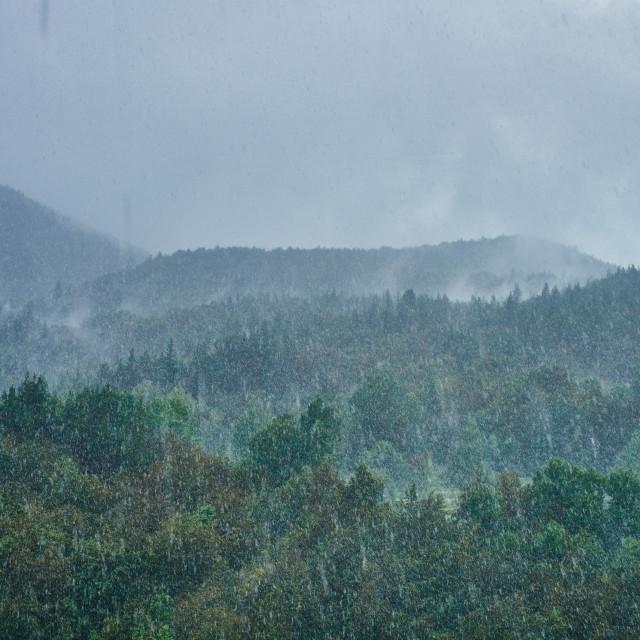 """Rainstorm"" stock image"