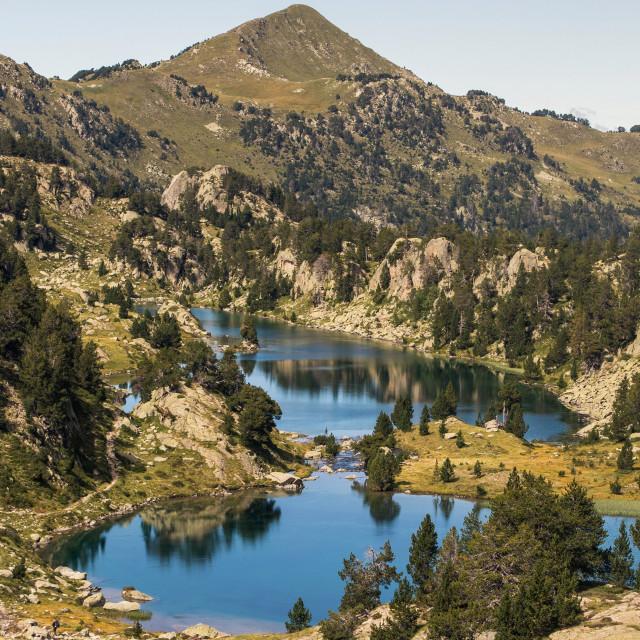 """""""Long Lake"""" stock image"""
