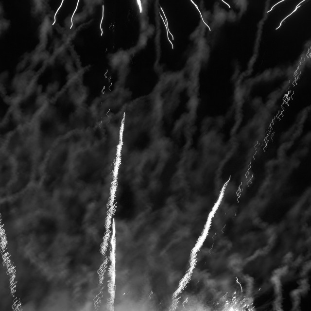 """Fireworks Abstract Noise"" stock image"
