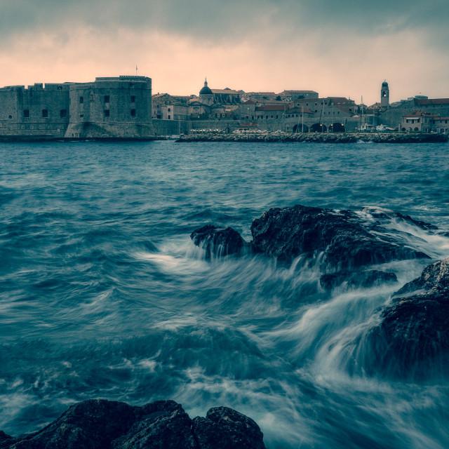 """Dubrovnik evening"" stock image"