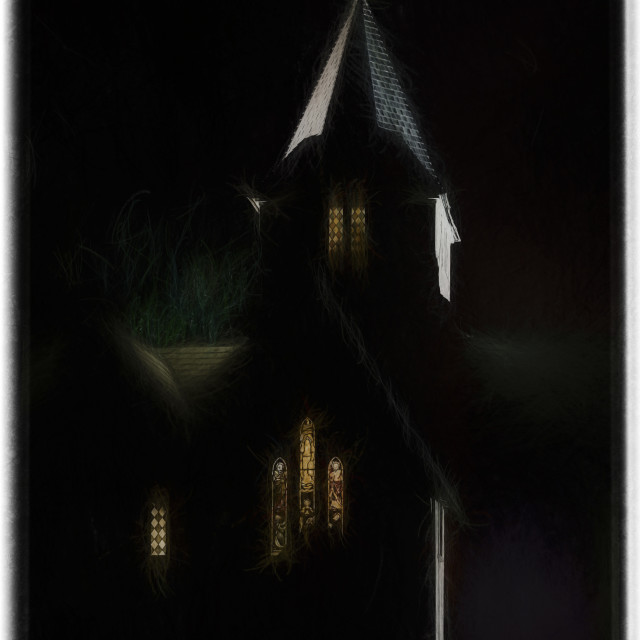 """All Saints Anglican Church"" stock image"