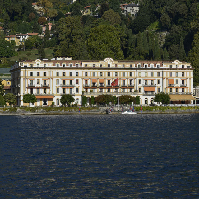 """""""Lake Como, Cernobbio, GH Villa D'Este."""" stock image"""