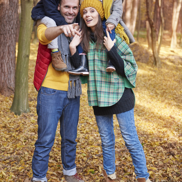 """""""Every moment with family is precious"""" stock image"""