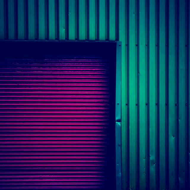 """Metallic Colours"" stock image"