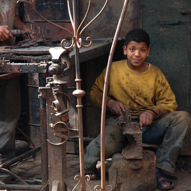 """Moroccan Native"" stock image"