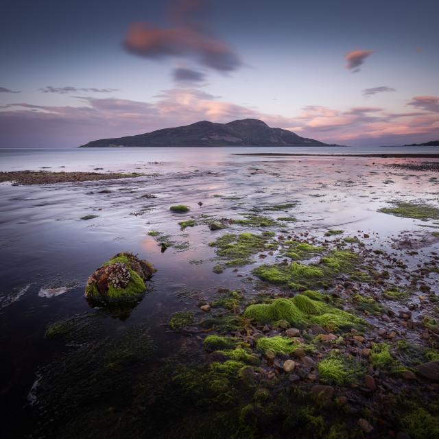 """""""Holy Isle - Arran"""" stock image"""