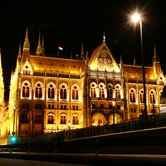 """Hungarian Parliament"" stock image"