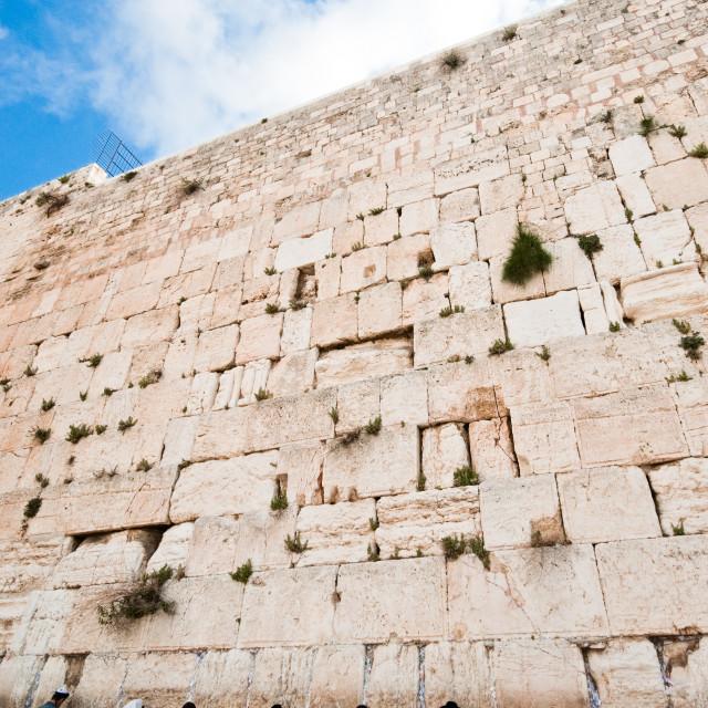 """Western Wall, Jerusalem, Israel"" stock image"