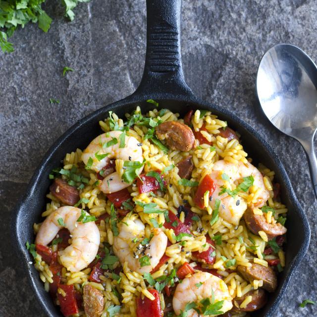 """""""Spanish cauli rice"""" stock image"""