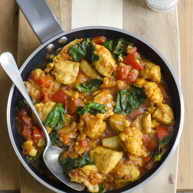 """""""Chicken curry"""" stock image"""