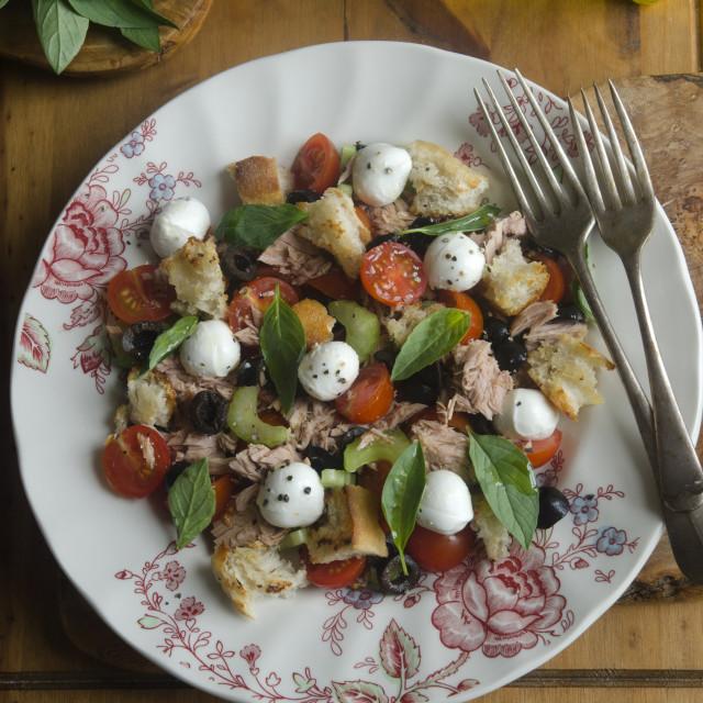 """Caponata di Amalfi salad"" stock image"