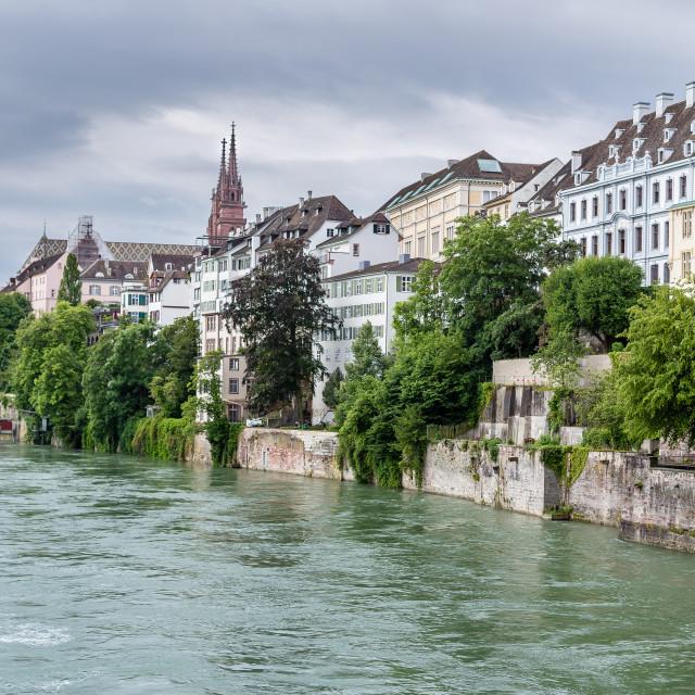 """""""Basel, Switzerland"""" stock image"""