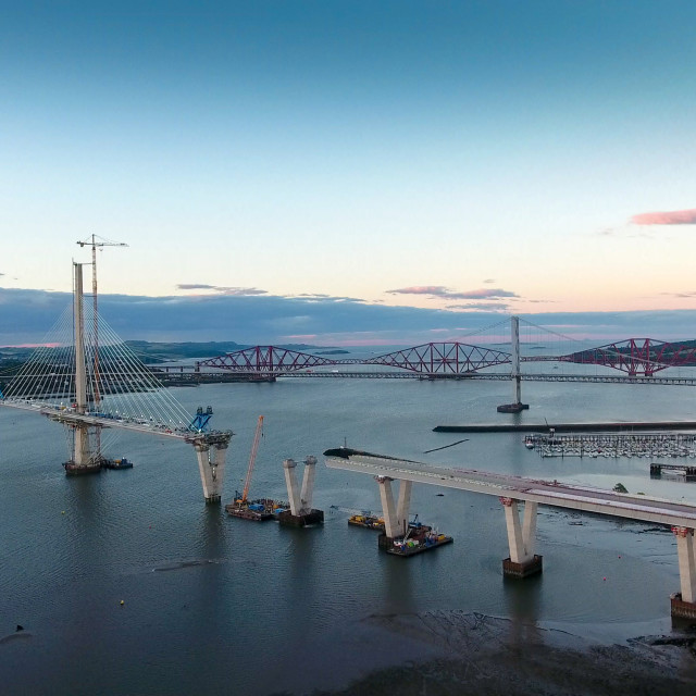 """New Forth Crossing"" stock image"