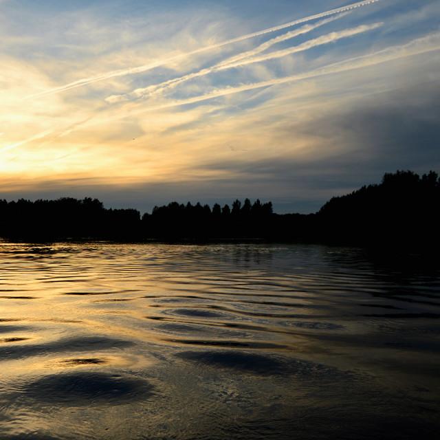 """Evening sky"" stock image"