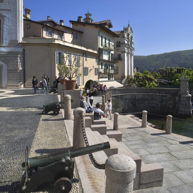 """""""Lake Maggiore,Isola Bella"""" stock image"""