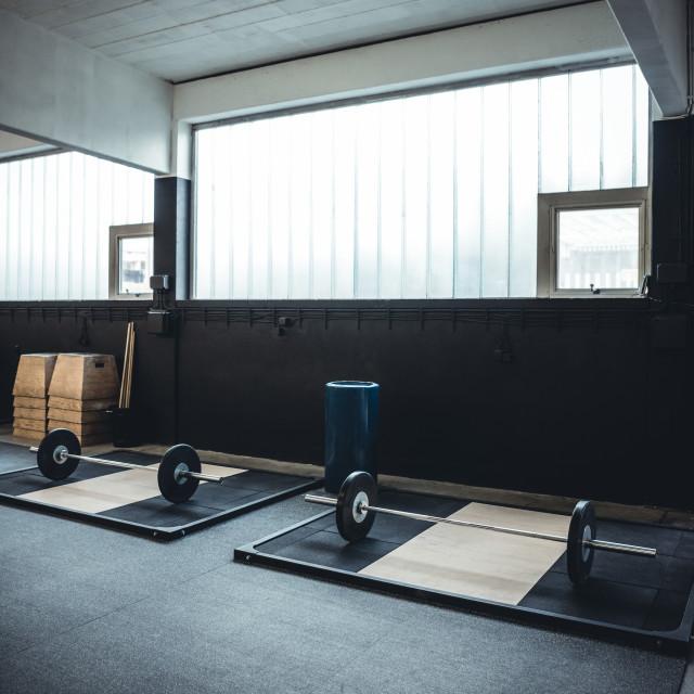 """Gym Interior"" stock image"