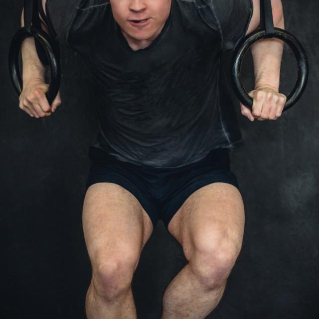 """Mens Fitness"" stock image"