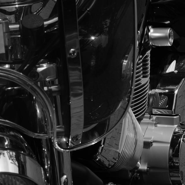 """Vintage Motorbike"" stock image"