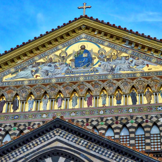 """Duomo San Andreas, Amalfi"" stock image"
