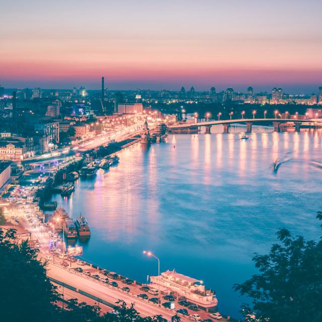 """Kiev Skyline | Kiev, Ukraine 2016"" stock image"
