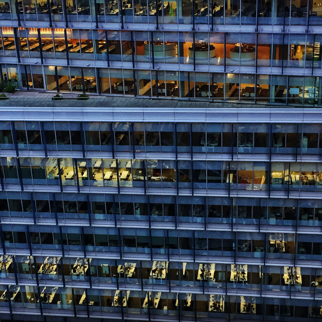"""Office buildings"" stock image"