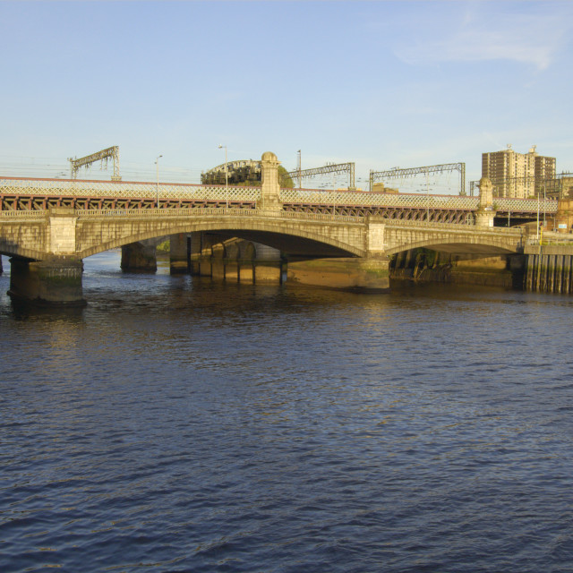 """""""River Clyde"""" stock image"""