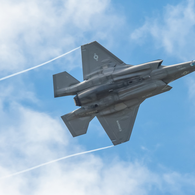 """Lockheed Martin F-35B"" stock image"