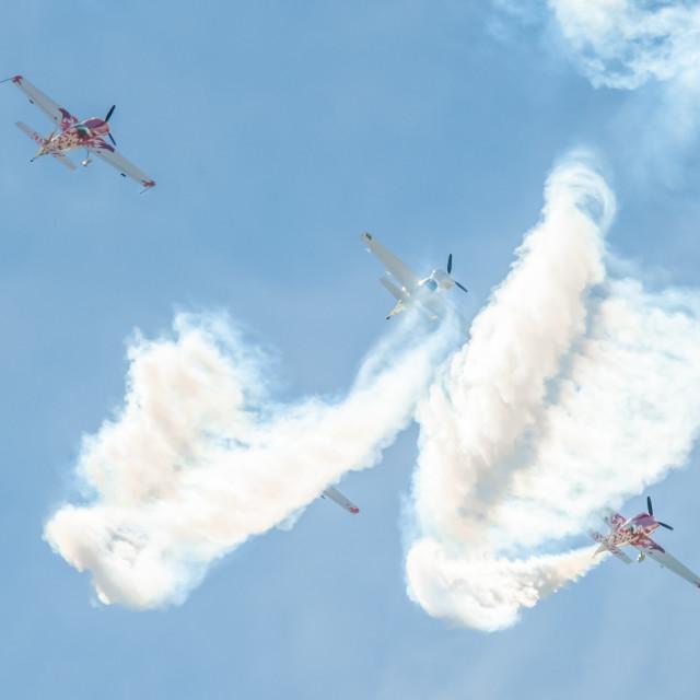 """Global Stars Aerobatics"" stock image"