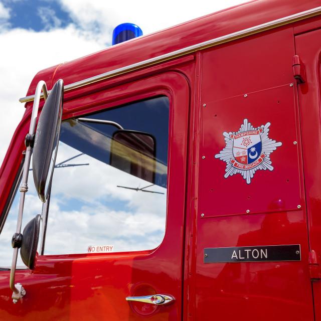 """Fire Brigade"" stock image"