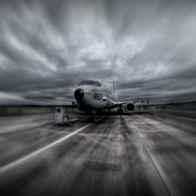 """Boeing Poseidon"" stock image"